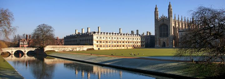 river Cam and Clare College - Dave Porter Landscape Photography