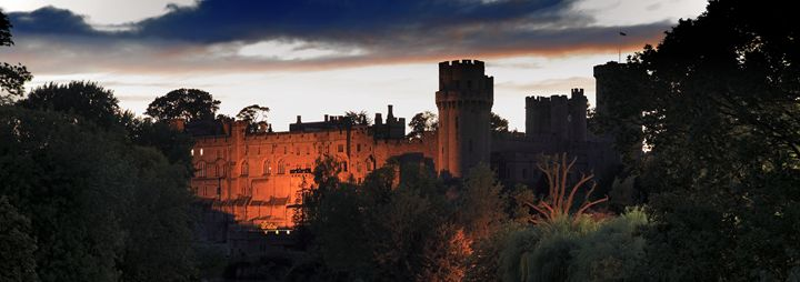 Warwick Castle on the River Avon - Dave Porter Landscape Photography