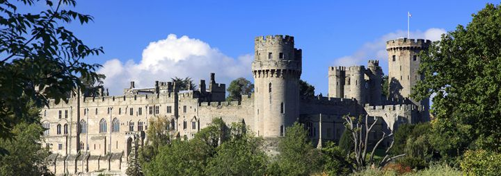 Warwick Castle on the River Avon - Dave Porter Landscape Photography