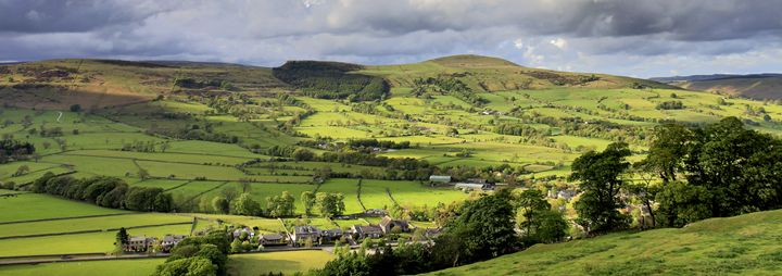 Hope Valley showing Mam Tor - Dave Porter Landscape Photography
