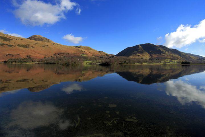 Autumn colours, Whiteless Pike fell - Dave Porter Landscape Photography