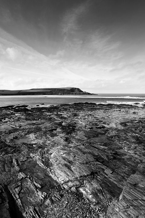 Rugged shoreline, Padstow Bay - Dave Porter Landscape Photography
