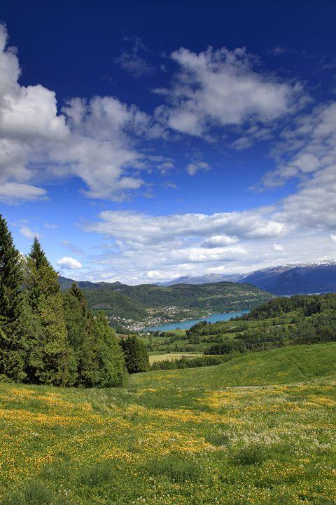 village of Oystese, Hardangerfjord - Dave Porter Landscape Photography
