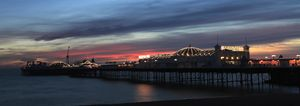Dusk colours, Brighton Palace Pier