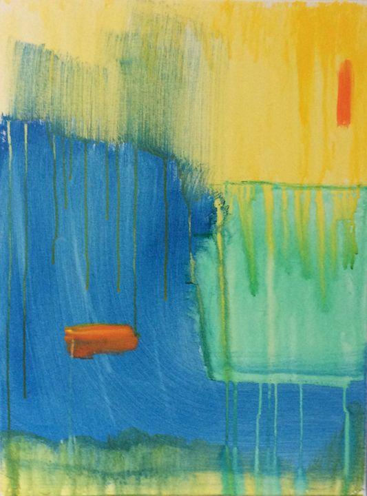 Rain falling on a sunny day - Jill Midthune
