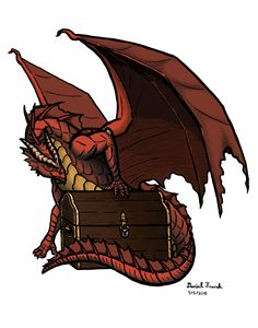 A Dragon and His Treasure