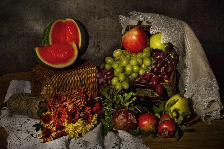 Watermelon - Victoria's Still Life