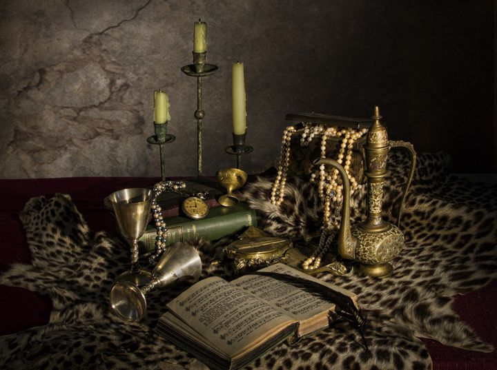 Pearls and Candles - Victoria's Still Life
