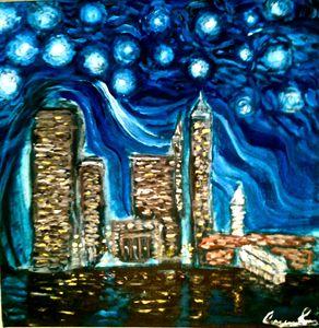 San Francisco Starry Night