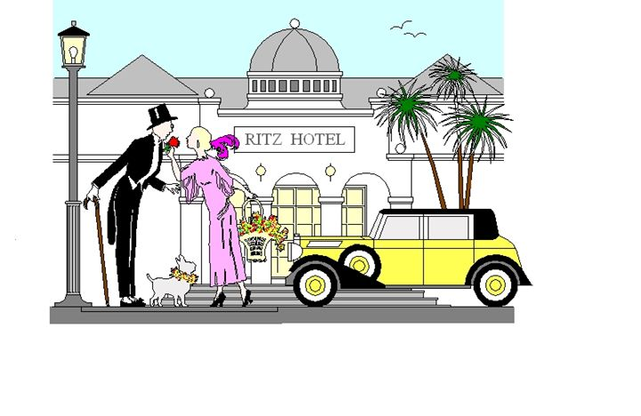 Ritz Hotel - CreativeMinds69