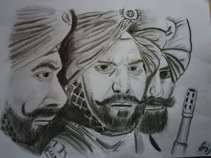 Indian sikh army - Sri maquettes