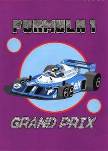 Retro F1 Grand Prix Poster