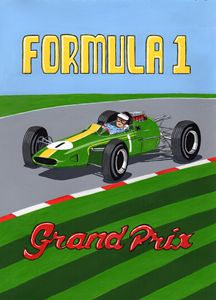 Retro F1 Poster