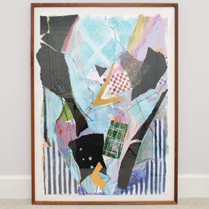 Ann Barbieri Mixed Media Painting