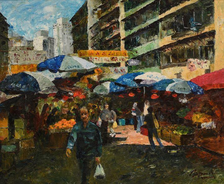 Hong Kong wet market - Art & Friends