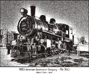 1920 American Locomotive No. 360