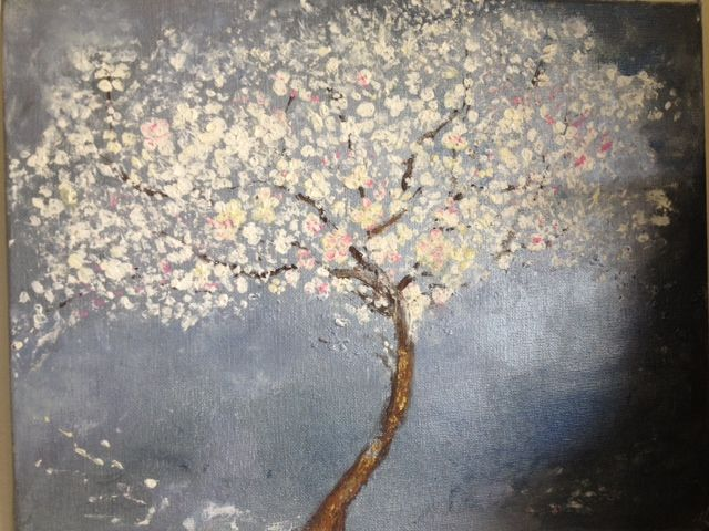cherry tree - art58