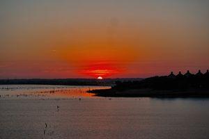 Sunrise over Lake Ray Hubbard