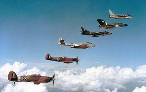 RAF HISTORIC FLIGHT FORMATION