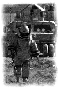 ARMY RLC BOMB DISPOSAL