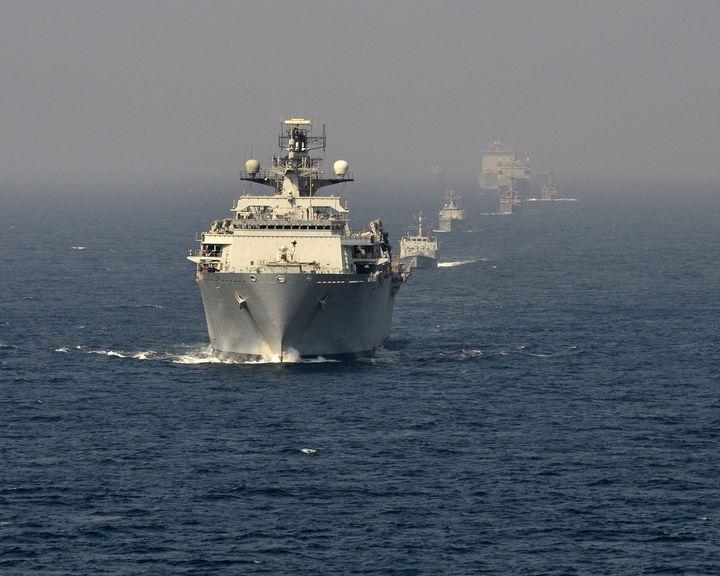 HMS Bulwark - MILITARY PHOTO PRINTS  UK