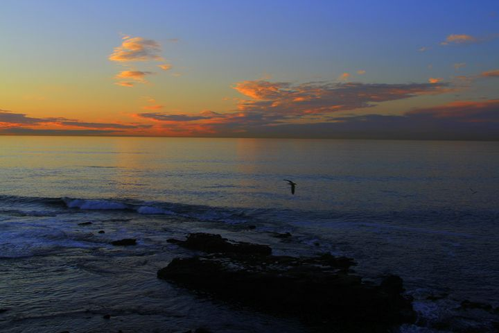 LaJolla Sunset - Jeffrey Schermer Photography