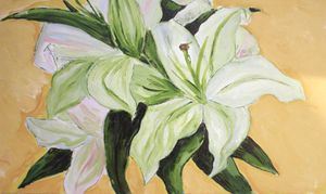 Mary Art Gallery: White Lily