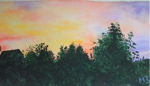 Mary Art: Sunset