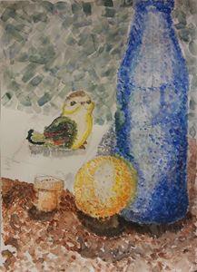 Chipper Still in watercolor