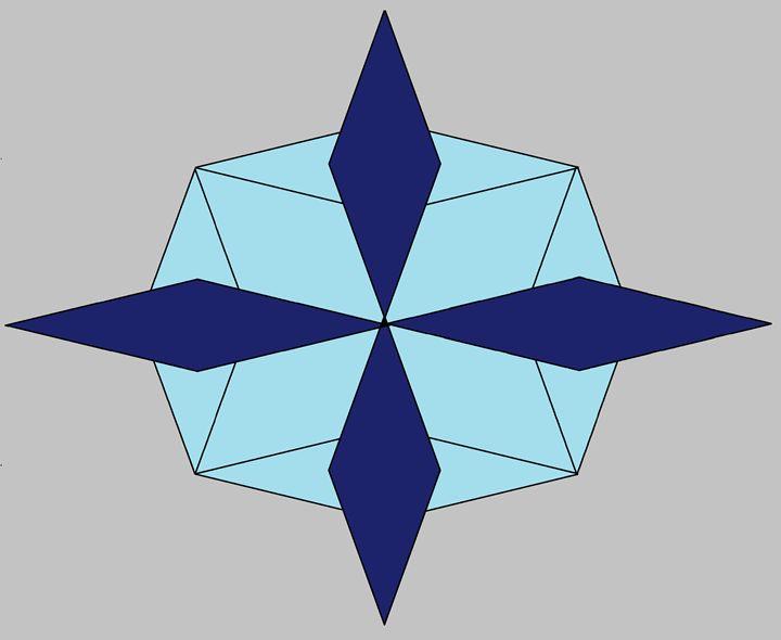 3D snowflake - Design Party